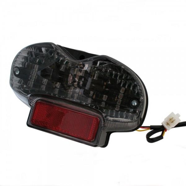 LED-Rücklicht Suzuki GSF 600/1200 Bandit mit getöntem Glas