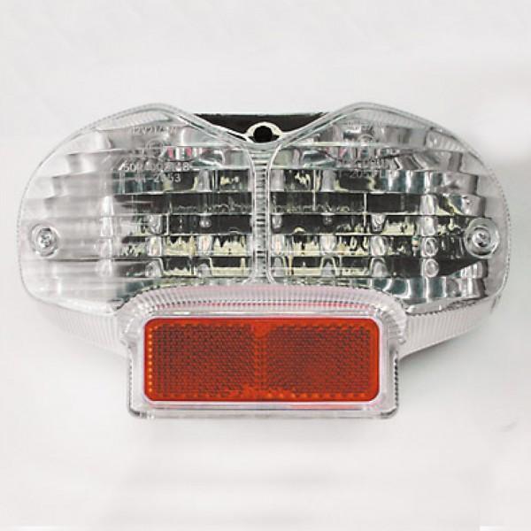 LED-Rücklicht Suzuki GSF 600/1200 Bandit mit transparentem Glas
