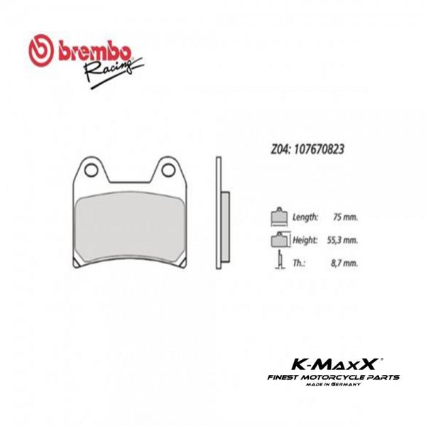 Bremsbelag Z04-70823