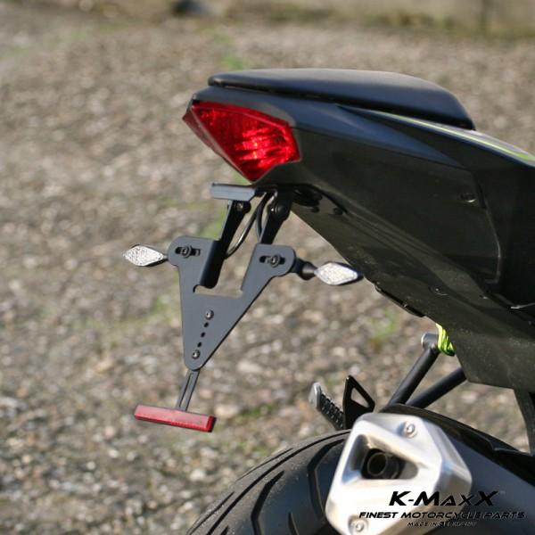 Kawasaki Z 125 Kennzeichenhalter