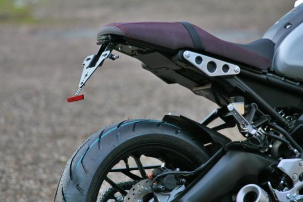 Yamaha XSR 900 Kennzeichenhalter / Heckumbau