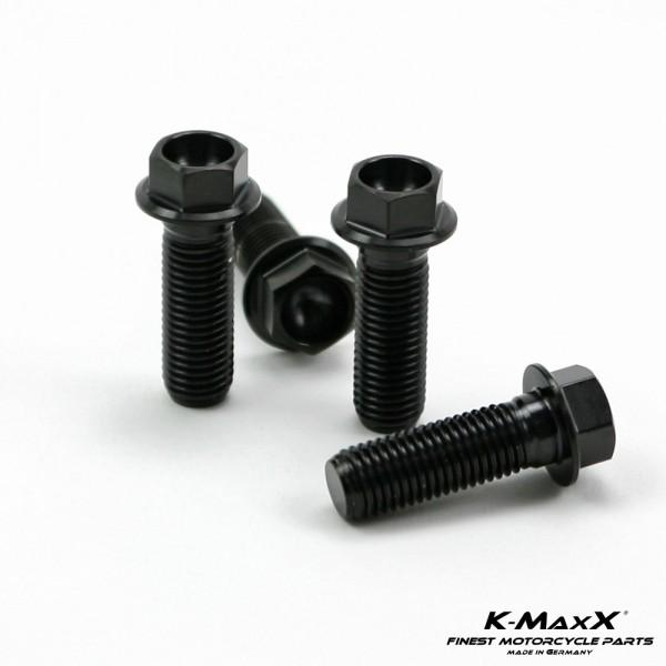 Satz Bremszangenschrauben M10x1.25 schwarz