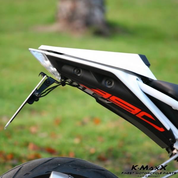 KTM 390 DUKE Kennzeichenhalter