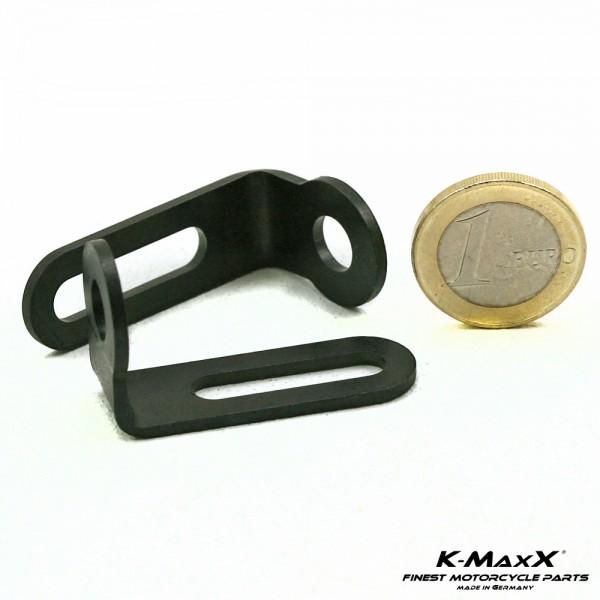 K-MaxX Haltewinkel / Blinkerhalter Satz schwarz