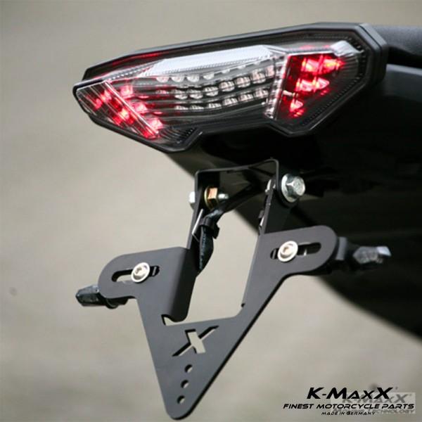 Yamaha MT-09 Kennzeichenhalter
