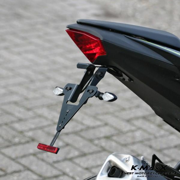Kawasaki Ninja 125 Kennzeichenhalter