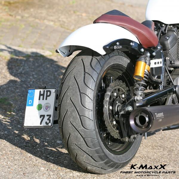 Yamaha XV 950 Bolt seitlicher Kennzeichenhalter