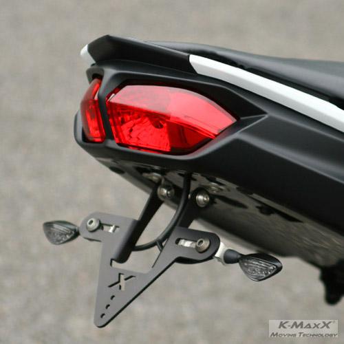 Yamaha FZ8/FAZER8 Kennzeichen-Haltekit 180/200mm
