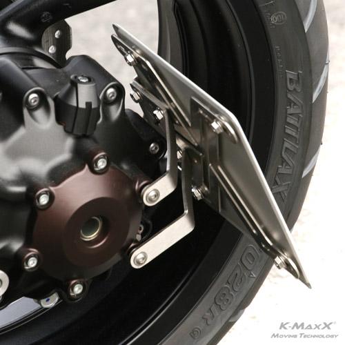 Yamaha VMAX 1700 KZH seitlich