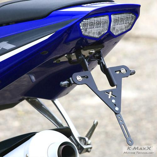Yamaha YZF-R6 RJ05/09 Kennzeichenhalter