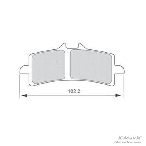 Bremsbelag Z04-497